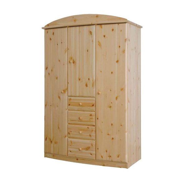 Csanád 3 ajtós, 4 fiókos szekrény