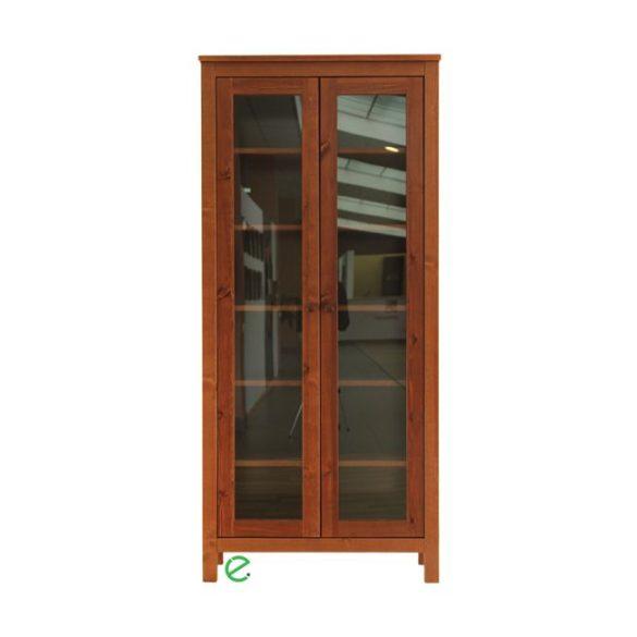 Szilaj 2 ajtós vitrines szekrény