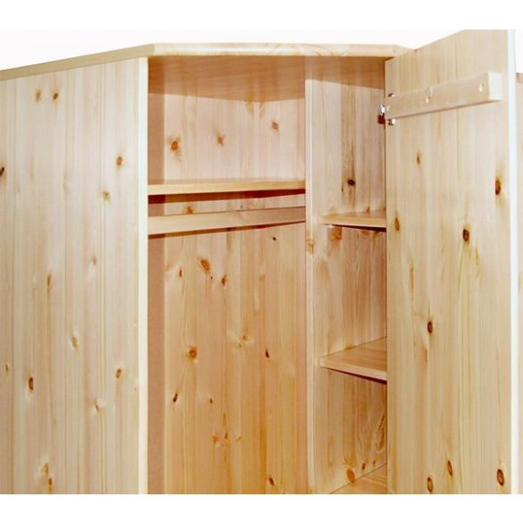 Csanád 1 ajtós sarok szekrény