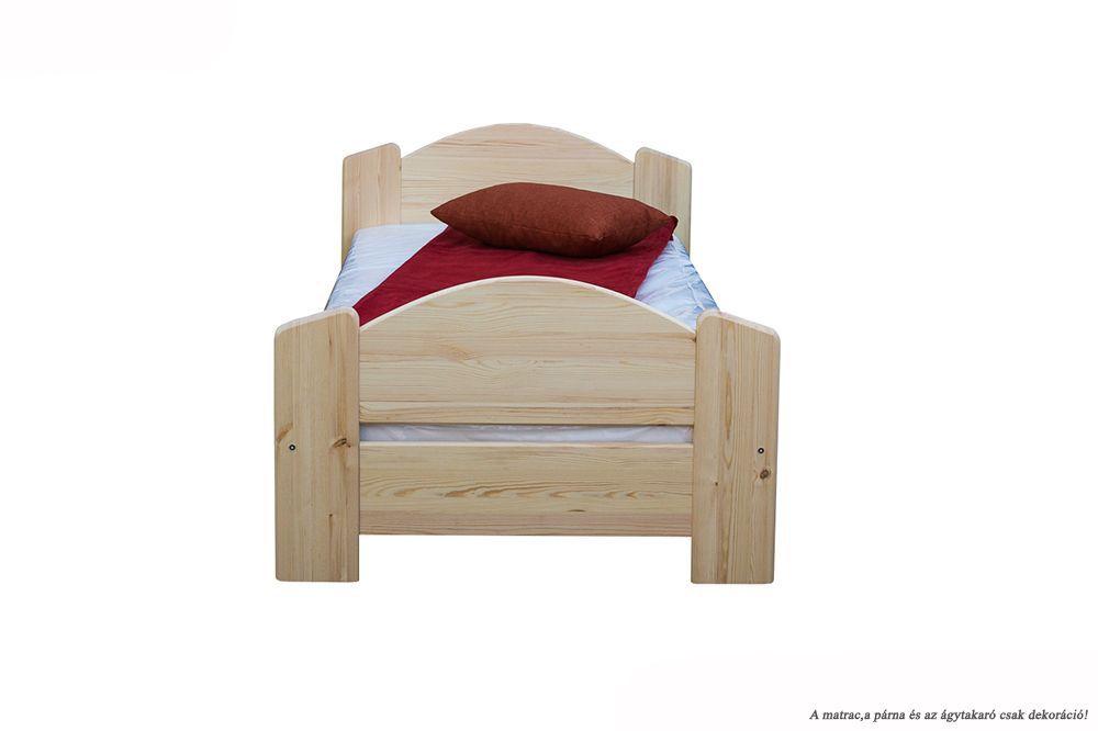 Zsolt egyszemélyes ágy, magas lábvéggel
