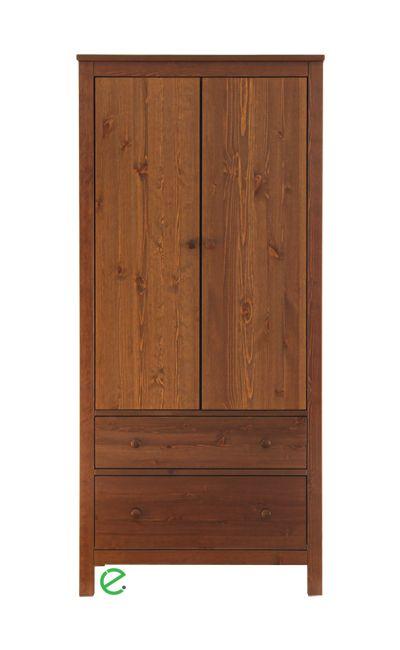 Szilaj 2 ajtós, 2 fiókos akasztós szekrény