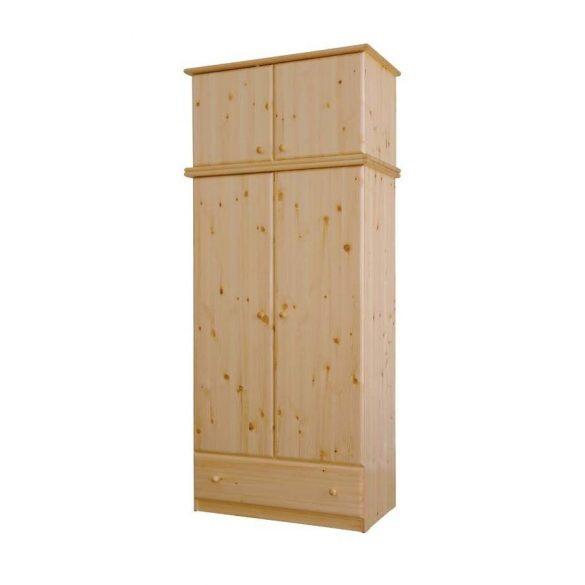 Csanád 2 ajtós szekrény magasító