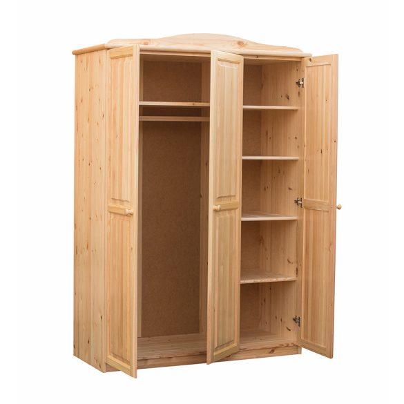 Gold 3 ajtós szekrény