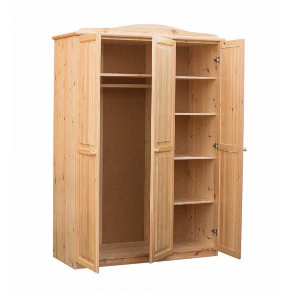 Fruzsi 3 ajtós szekrény