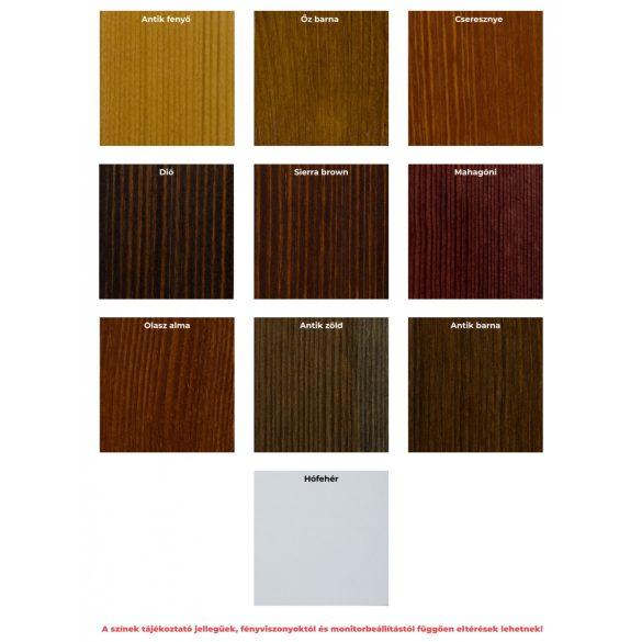 Gold 3 ajtós, 3 fiókos, középen tükrös szekrény