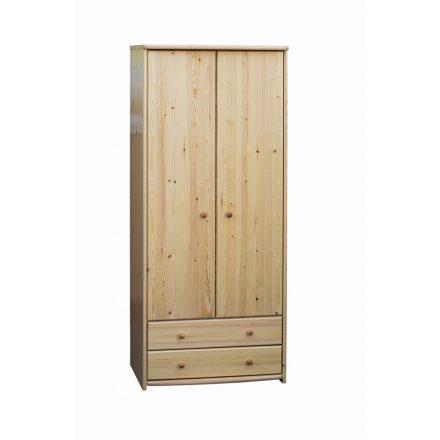 Zsombor 2 ajtós, 2 fiókos, válaszfalas szekrény