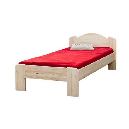 Zsombor egyszemélyes ágy, alacsony lábvéggel