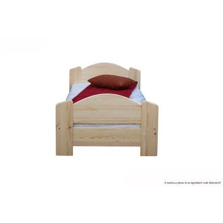 Zsombor egyszemélyes ágy, magas lábvéggel