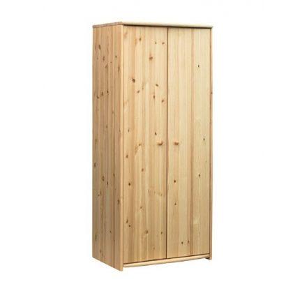 Zsombor 2 ajtós, akasztós szekrény
