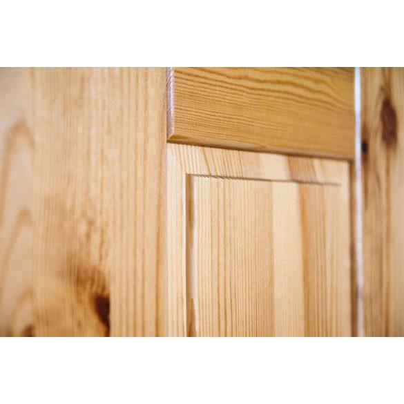 Viki 3 ajtós, 3 fiókos szekrény középső fióksorral