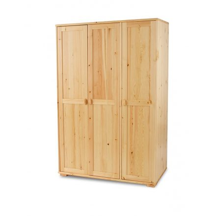 Vanessa 3 ajtós, fenyő szekrény