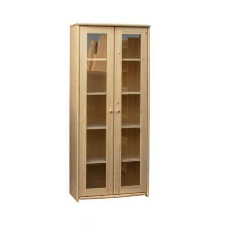 Zsombor 2 ajtós vitrines szekrény