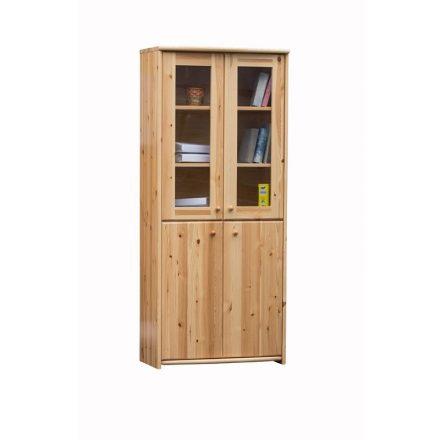 Zsombor 4 ajtós vitrines szekrény
