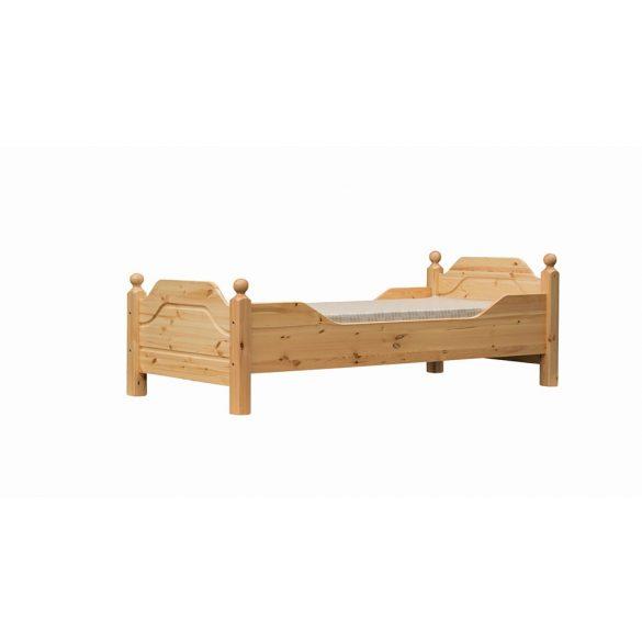 Riva egyszemélyes ágy, magas lábvéggel