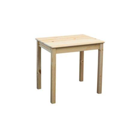 Zsombor keskeny fenyő étkező asztal (80x60)