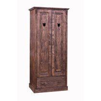 Katus 2 ajtós, 1 fiókos akasztós szekrény