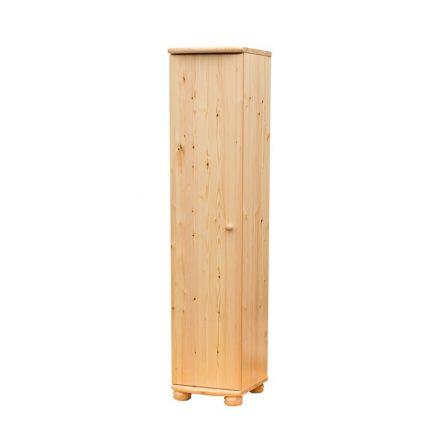 Claudia 1 ajtós polcos szekrény