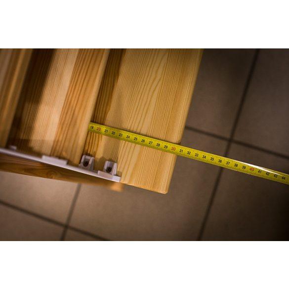 Claudia 85 cm széles, 3-as cipős szekrény, 35 cm mélységben