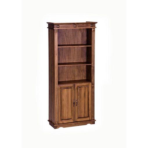 MS 2 ajtós + nyitott könyves szekrény CLA262