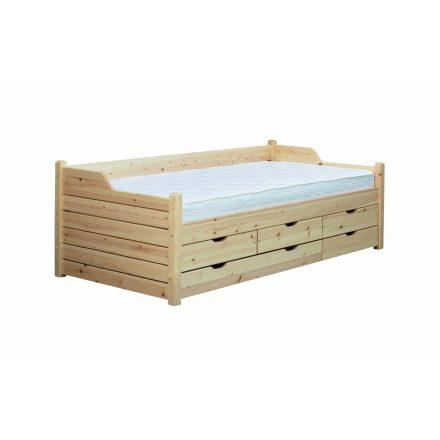 5 fiókos ágy