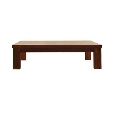 Szilaj fenyő dohányzó asztal 110x110 cm