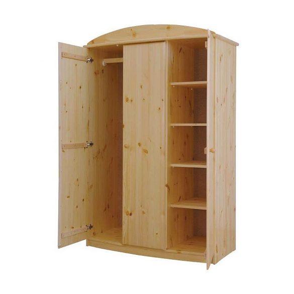 Csanád íves 3 ajtós szekrény