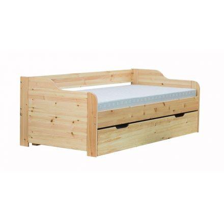 Timi vendégágyas fenyő ágy