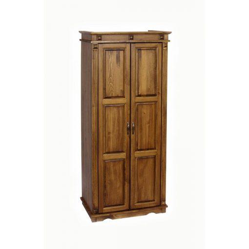 MS antik 2 ajtós, akasztós szekrény CLA221