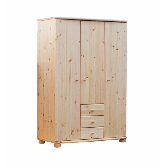 Claudia 3 ajtós, 3 fiókos szekrény