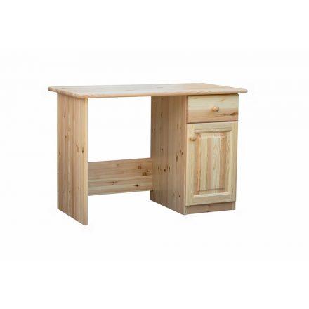 Fruzsi 1 ajtós, 1 fiókos fenyő íróasztal