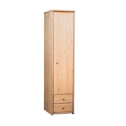 Zsombor 1 ajtós, 2 fiókos, polcos szekrény