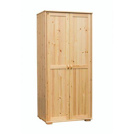 Vanessa 2 ajtós, akasztós+polcos fenyő szekrény