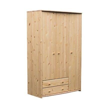 Zsombor 3 ajtós, 2 fiókos szekrény