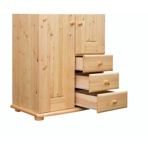 Viki 2 ajtós, 3 fiókos szekrény